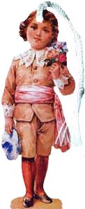Boy in Knickers Bookmark