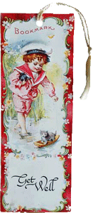Get Well Bookmark