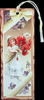 Girl Holding Poppies