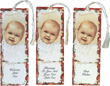 Baby Bookmarks