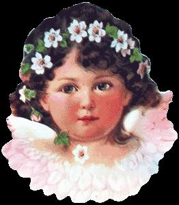 Angel w/Flowers Coasters