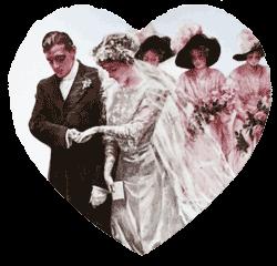 Wedding Couple Heart Coasters