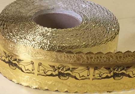 Cherubs Gold Foil Banding