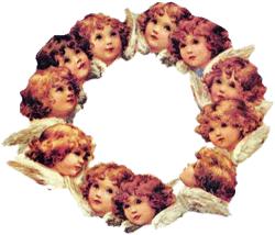 Ring of Angels Hot Pad & Coasters