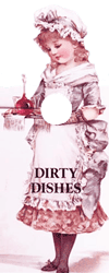 Dirty Dishes Knob Note