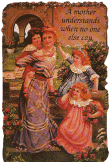 A Mother Understands Magnetic Verse Card