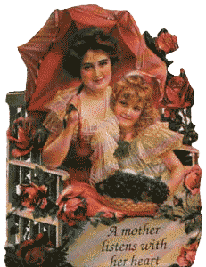 A Mother Listens Magnetic Verse Card