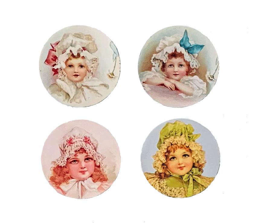 Bonnet Girls Mirror