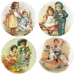 Children Playing Mirror