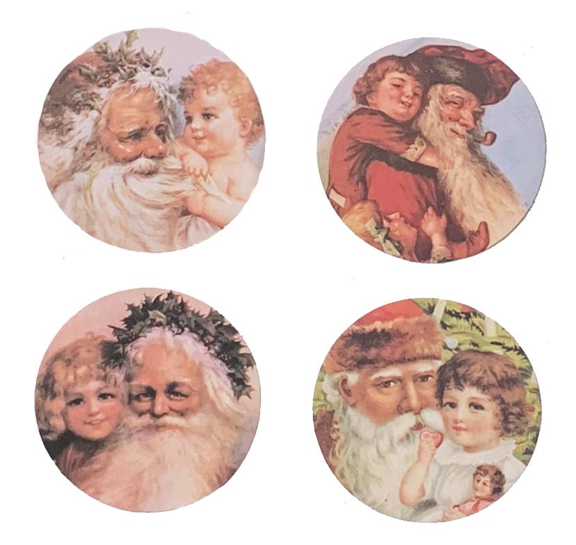 Santa Mirrors