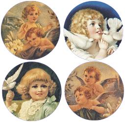 Cherubs Angels Mirror