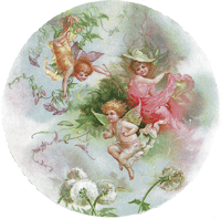 Cupids at Play Mirror
