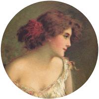 Lady in Reverie Mirror