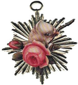 Bird w/Rose Gold