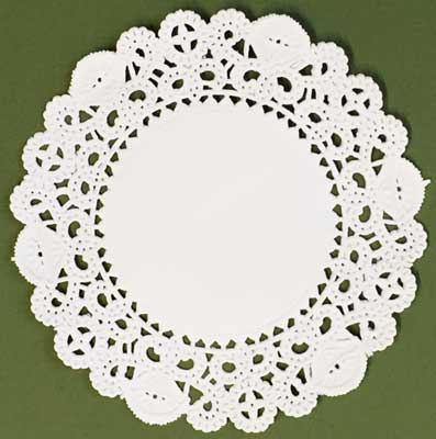 "4"" Normandy Paper Lace Doilies"