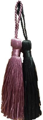 "5 1/2"" Purple or Black Tassels"