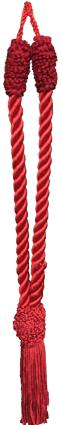 Red Tassel Tieback